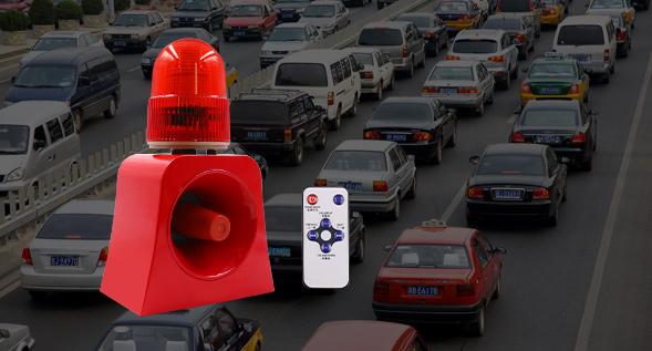 台州市交通安全-微波感应声光报警器的应用