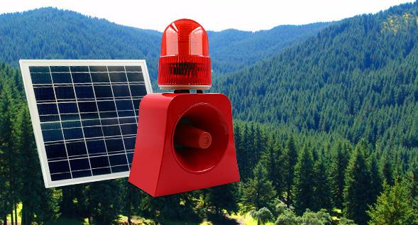 声光警示-森林防火声光报警器的应用