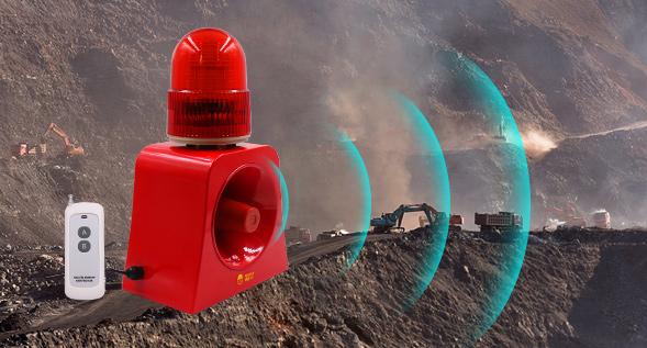 矿业-声光报警器的应用