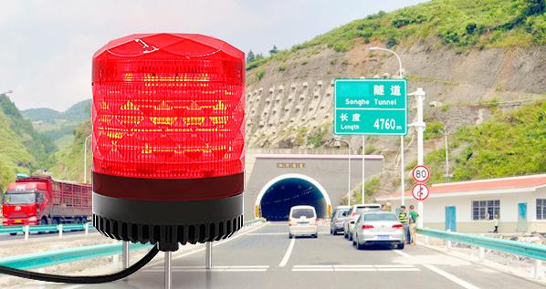 工地施工请注意,施工警示灯提醒您!