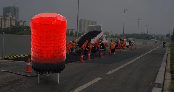 交通建设集团—工地信号警示灯的应用