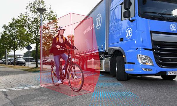 唯创安全 大车盲区雷达预警系统—预防盲区事故