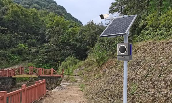 宁波市采购的太阳能森林防火声光报警器使用反馈