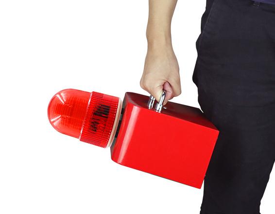 带电池手提 便携式声光报警器SF-504