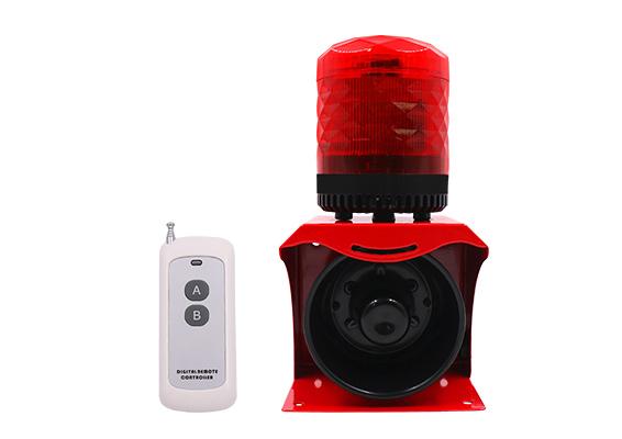小型声光报警器 无线遥控声光报警器SF-512