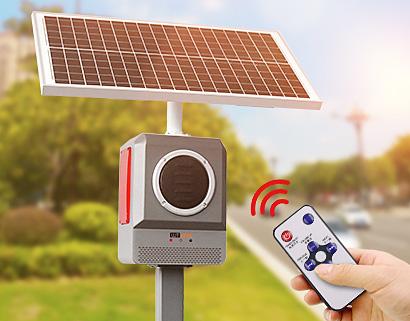 太阳能语音提示器 路口森林防火语音报警