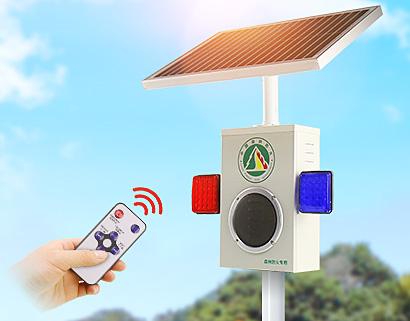 户外语音提示器 太阳能报警器