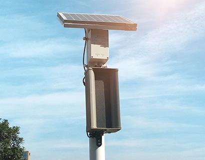 太阳能微波感应人体大音量语音提示器